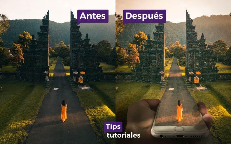 Con un mensaje te dice adiós tutorial corto juntar 2 imágenes