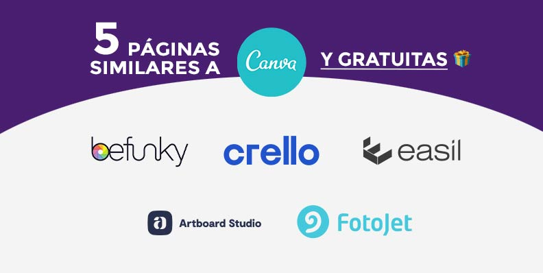 5 páginas similares a CANVA 🙌 Y GRATUITAS 🎁