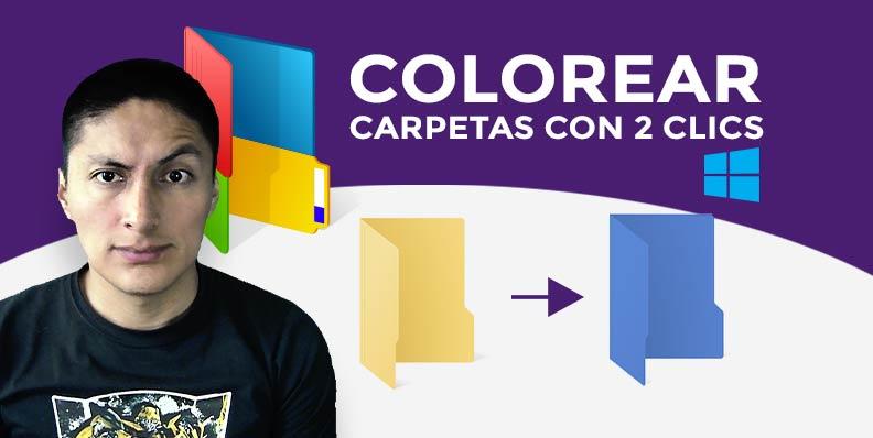 Colorear carpetas en 2 simples pasos