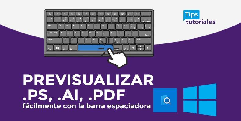 Previsualizar .ps, .ai, .pdf � fácilmente con la barra espaciadora �