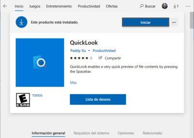 quicklook-store